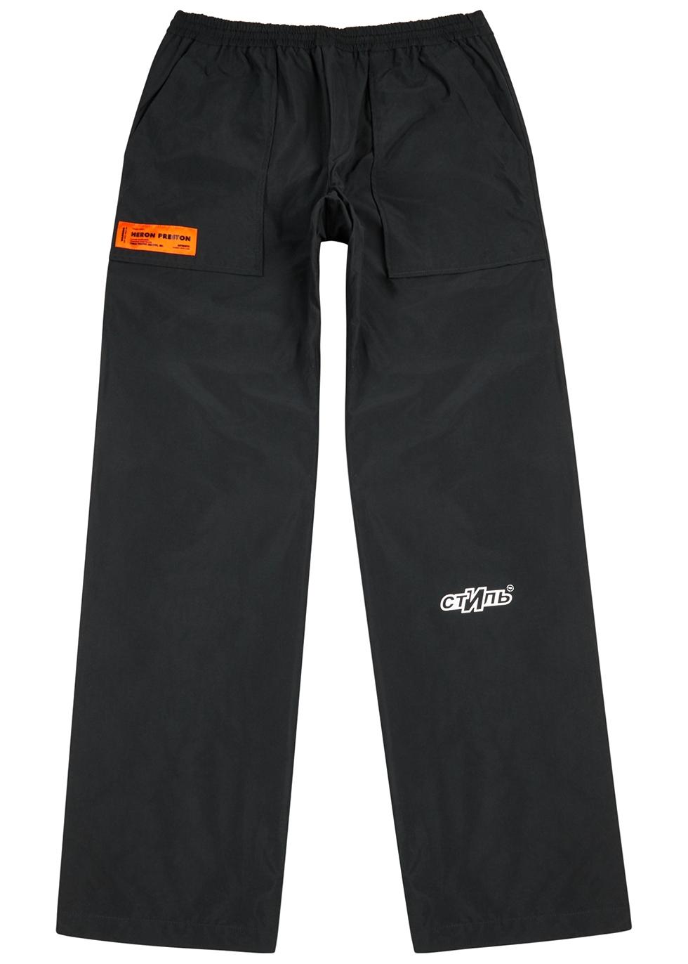 CTNMB black shell trousers