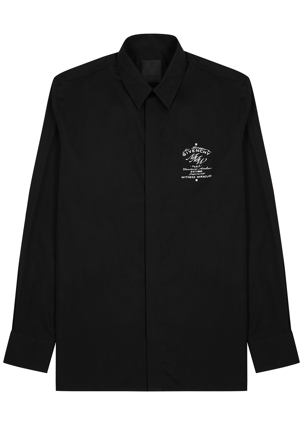 MMW black cotton shirt