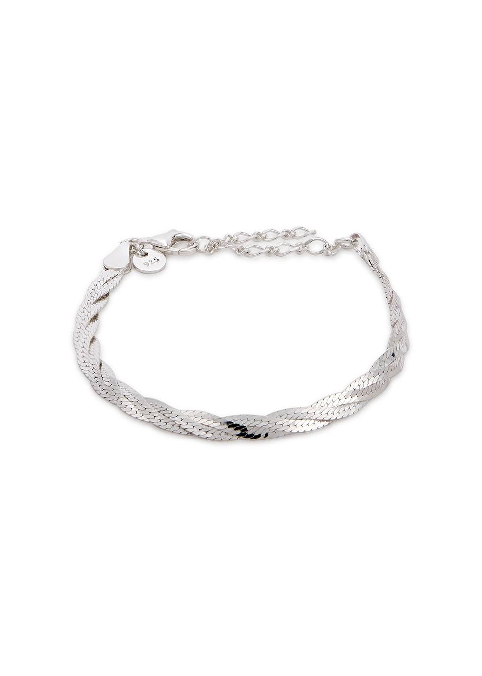 Vita sterling silver bracelet