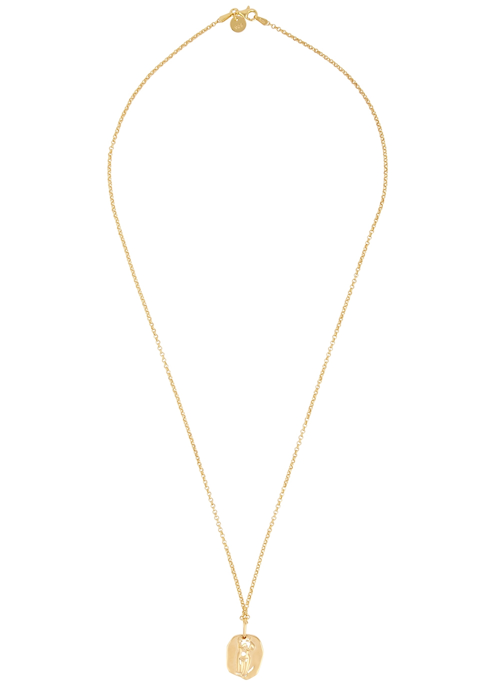 Aphrodite 18kt gold-plated necklace