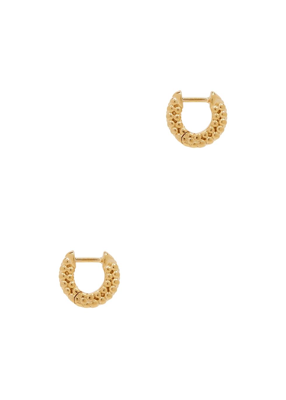 Dolly 18kt gold-plated hoop earrings