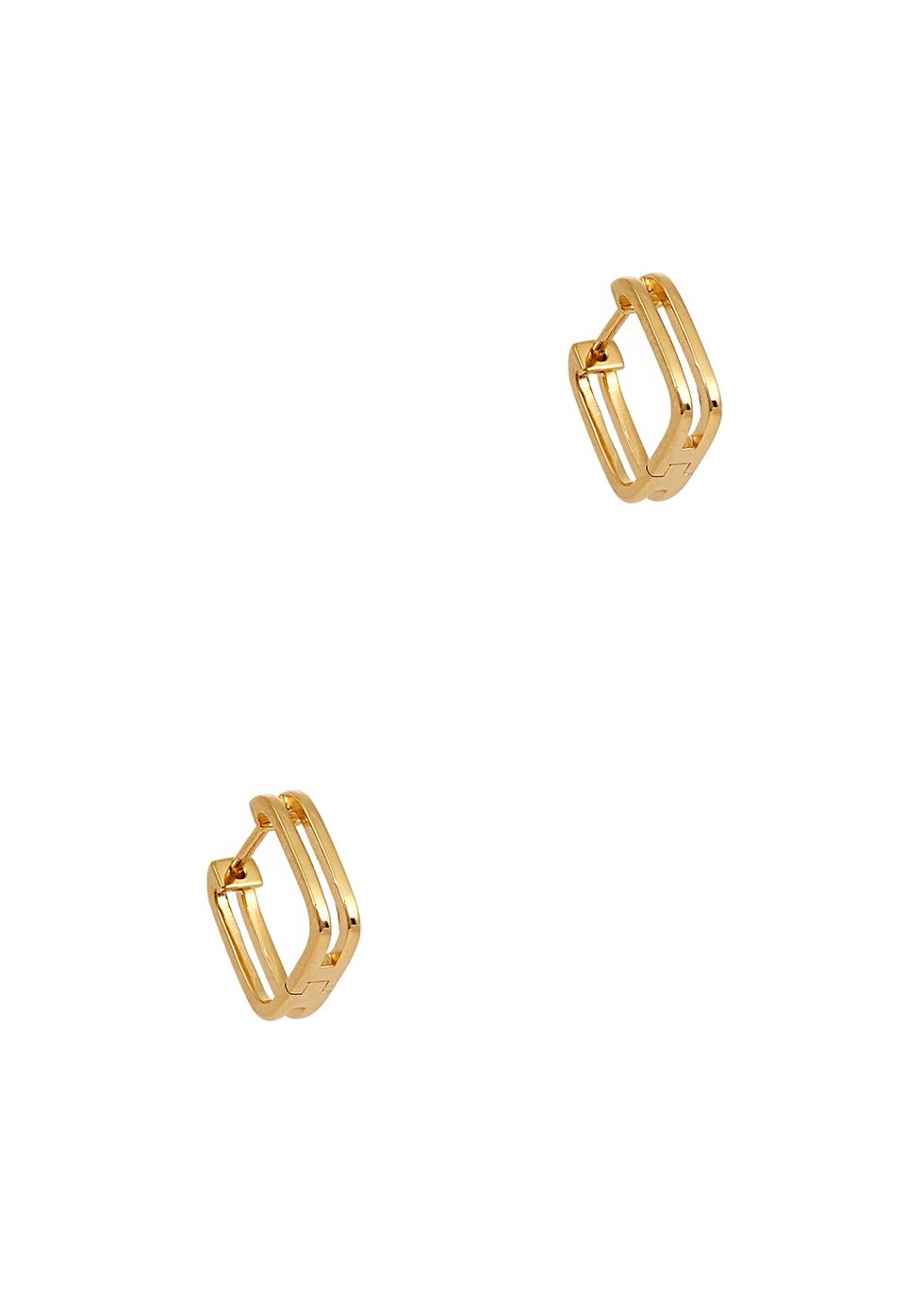 Rupi 18kt gold-plated hoop earrings