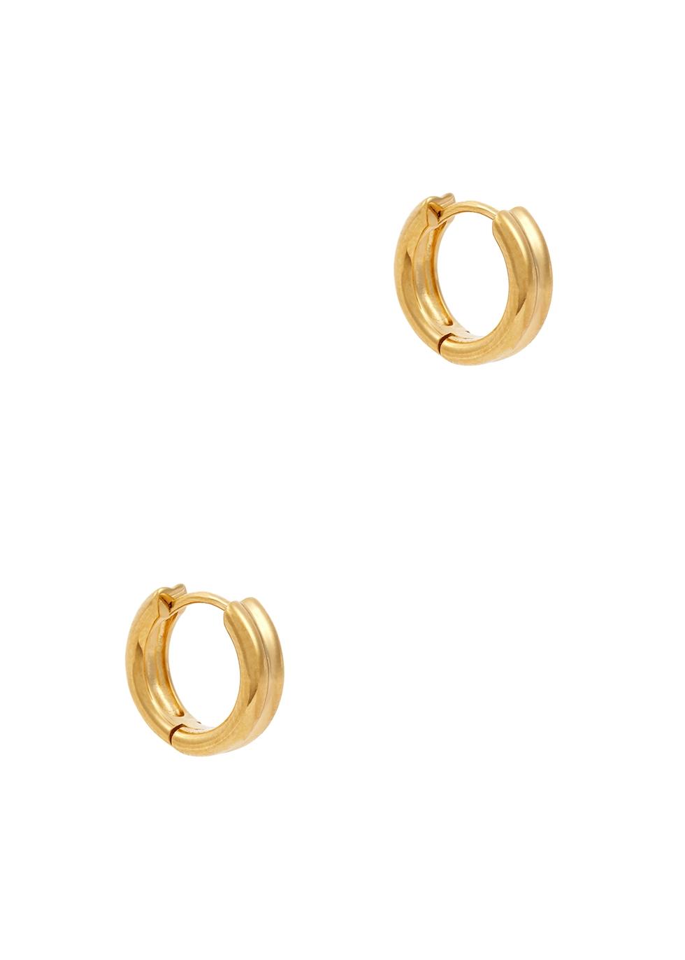 Meryl 18kt gold-plated hoop earrings