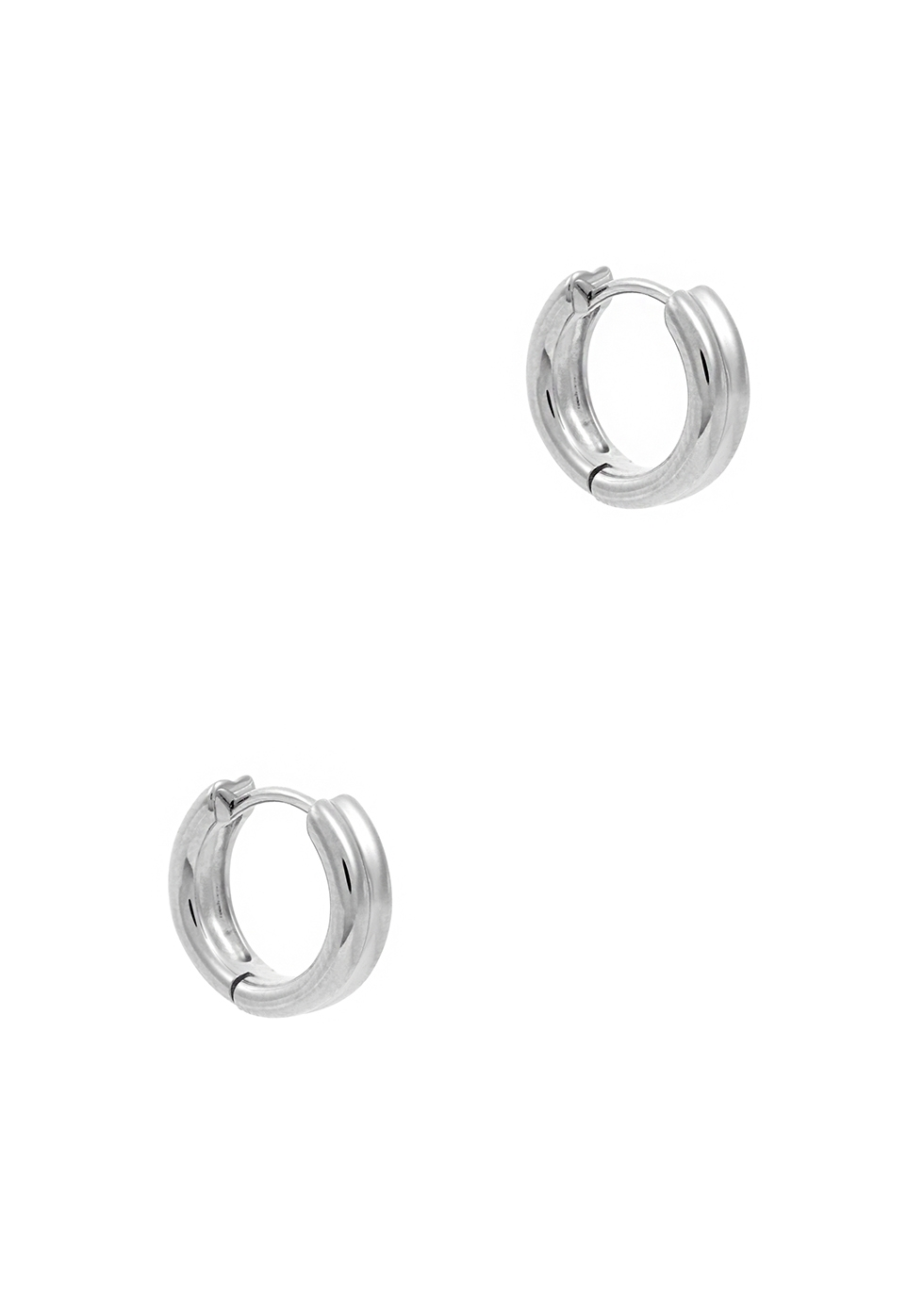 Meryl sterling silver hoop earrings