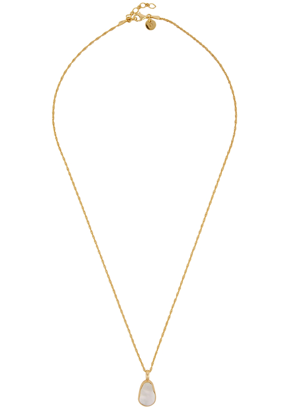 Isla 18kt gold-plated necklace