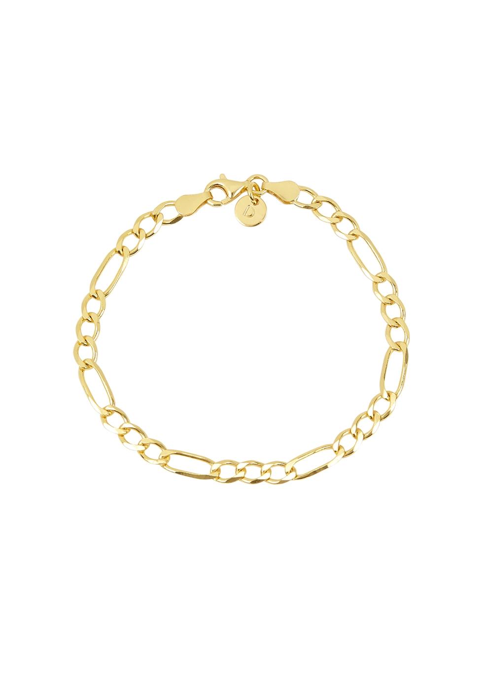 X Estée Lalonde Figaro 18kt gold-plated bracelet