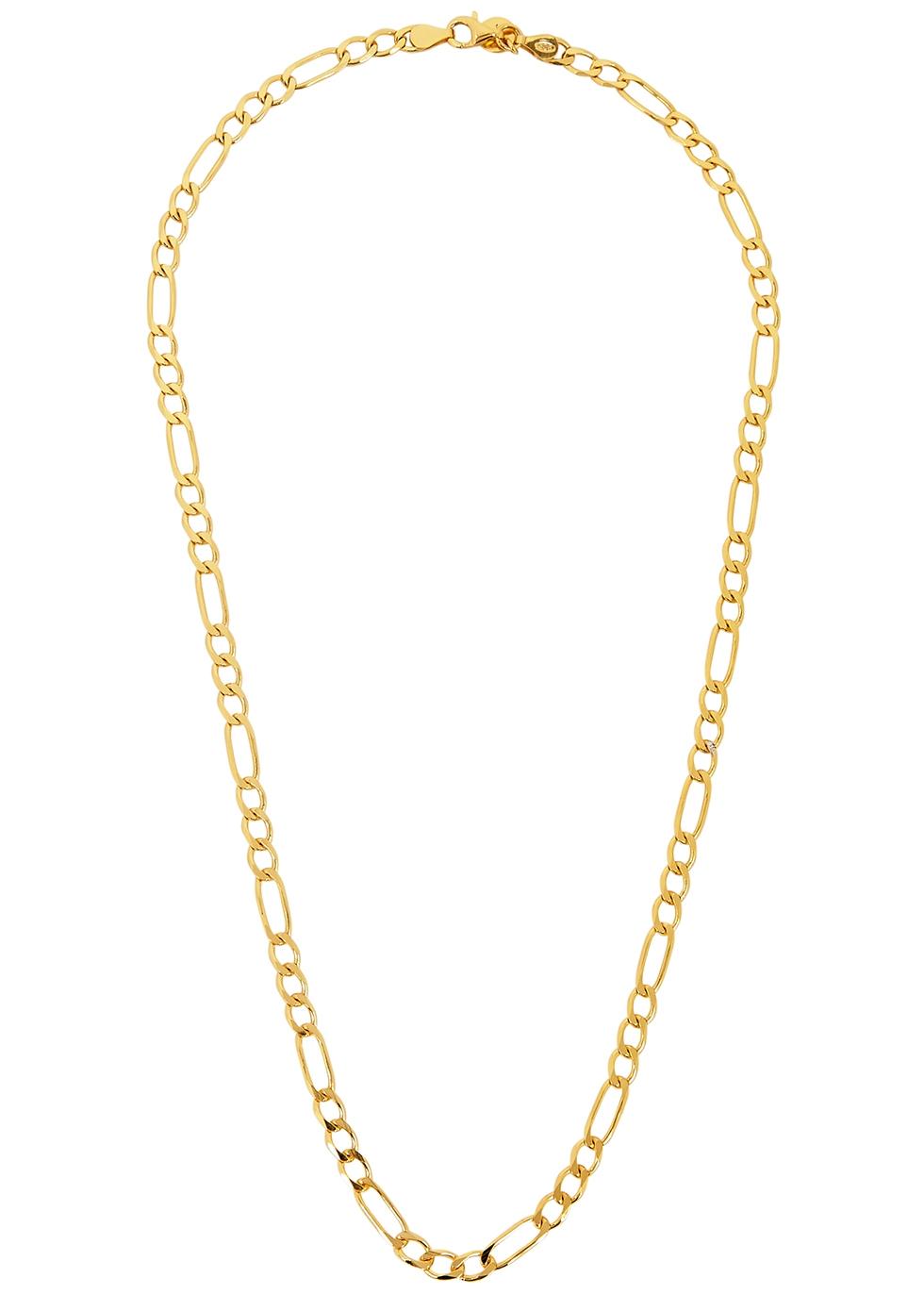 X Estée LaLonde Figaro 18kt gold-plated necklace