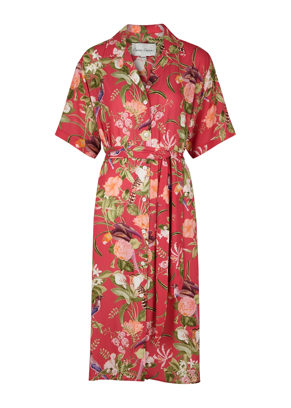 Hobbs printed shirt dress