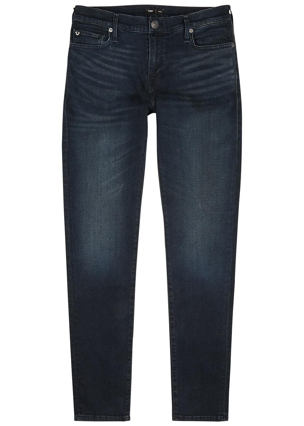 Tony dark blue skinny jeans