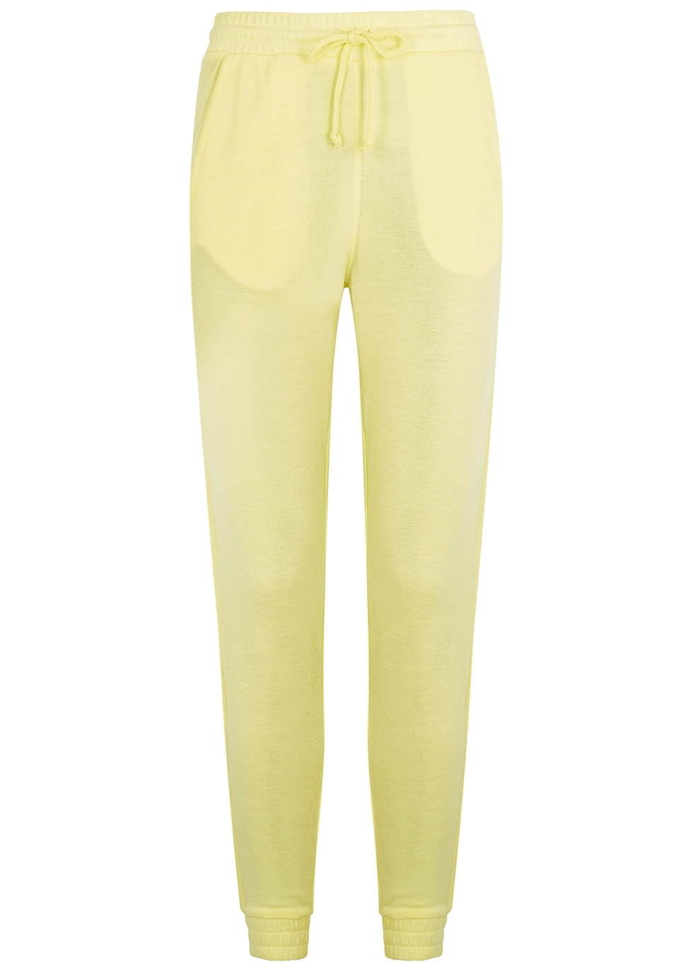 Back Into It yellow modal-blend sweatpants