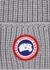 Grey logo wool beanie - Canada Goose