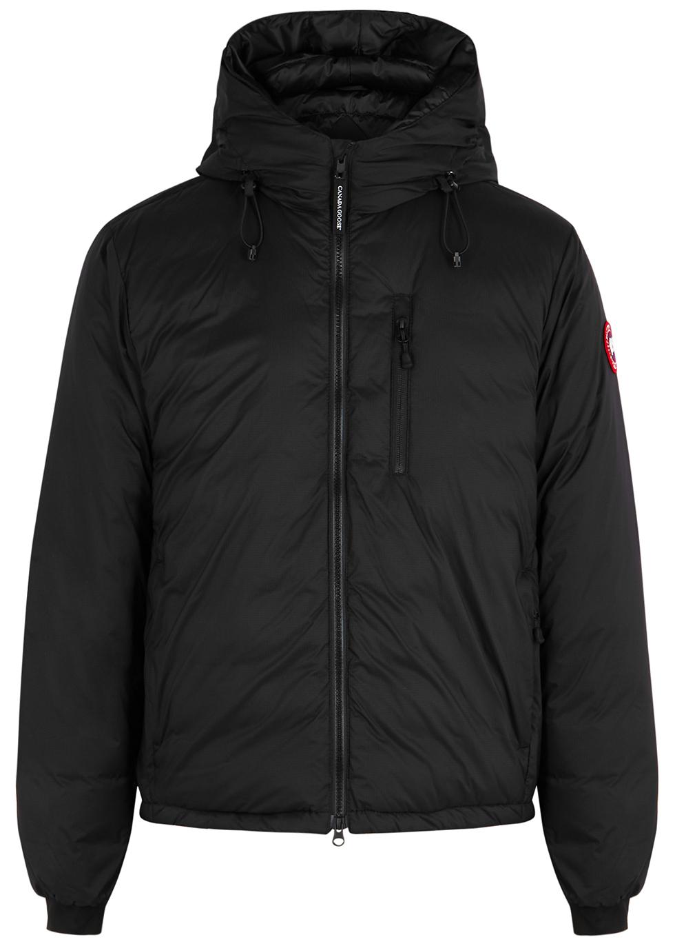 Lodge black padded ripstop shell jacket