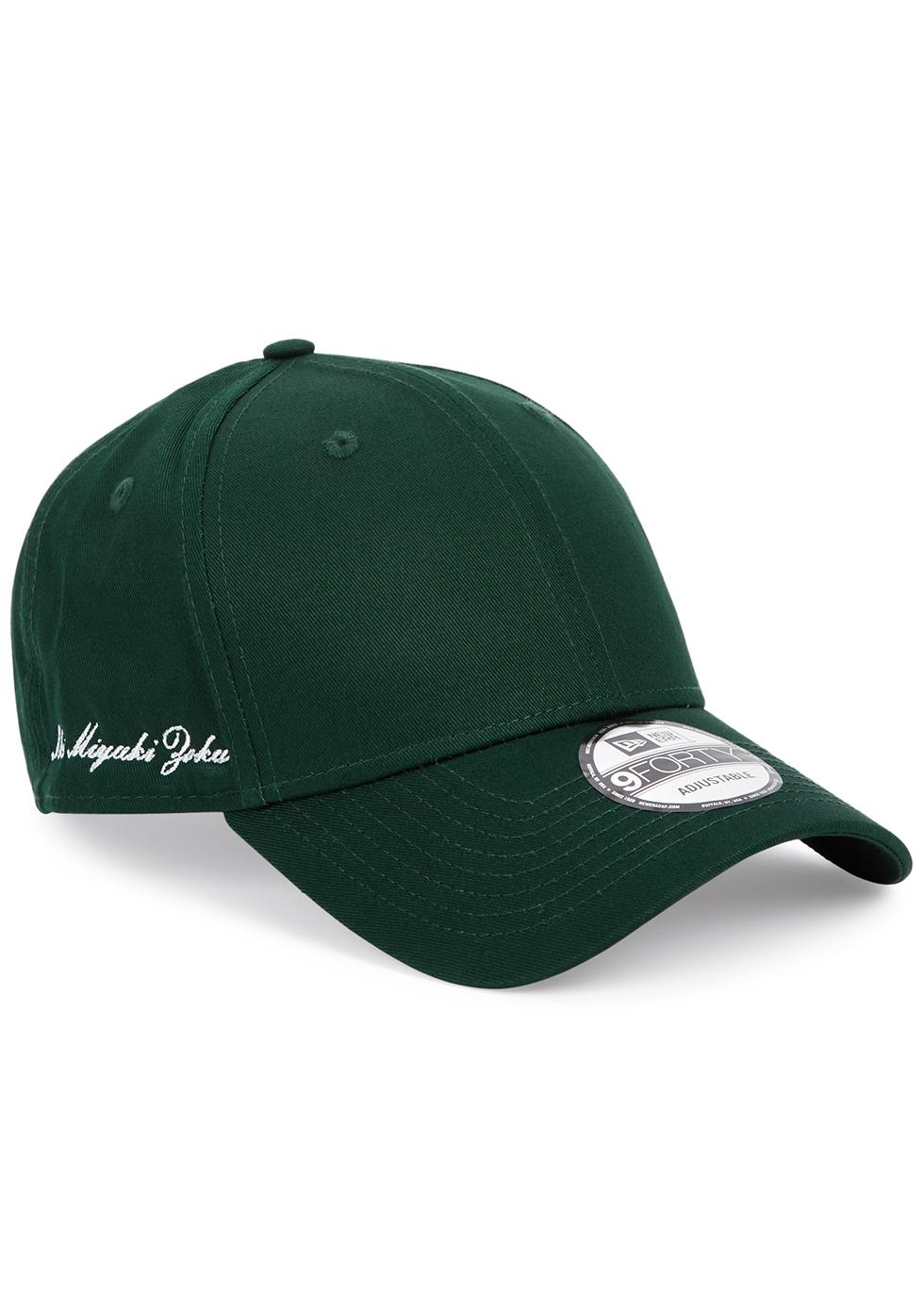 X New Era 9FORTY black twill cap