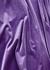Purple velvet bodysuit - Alexandre Vauthier