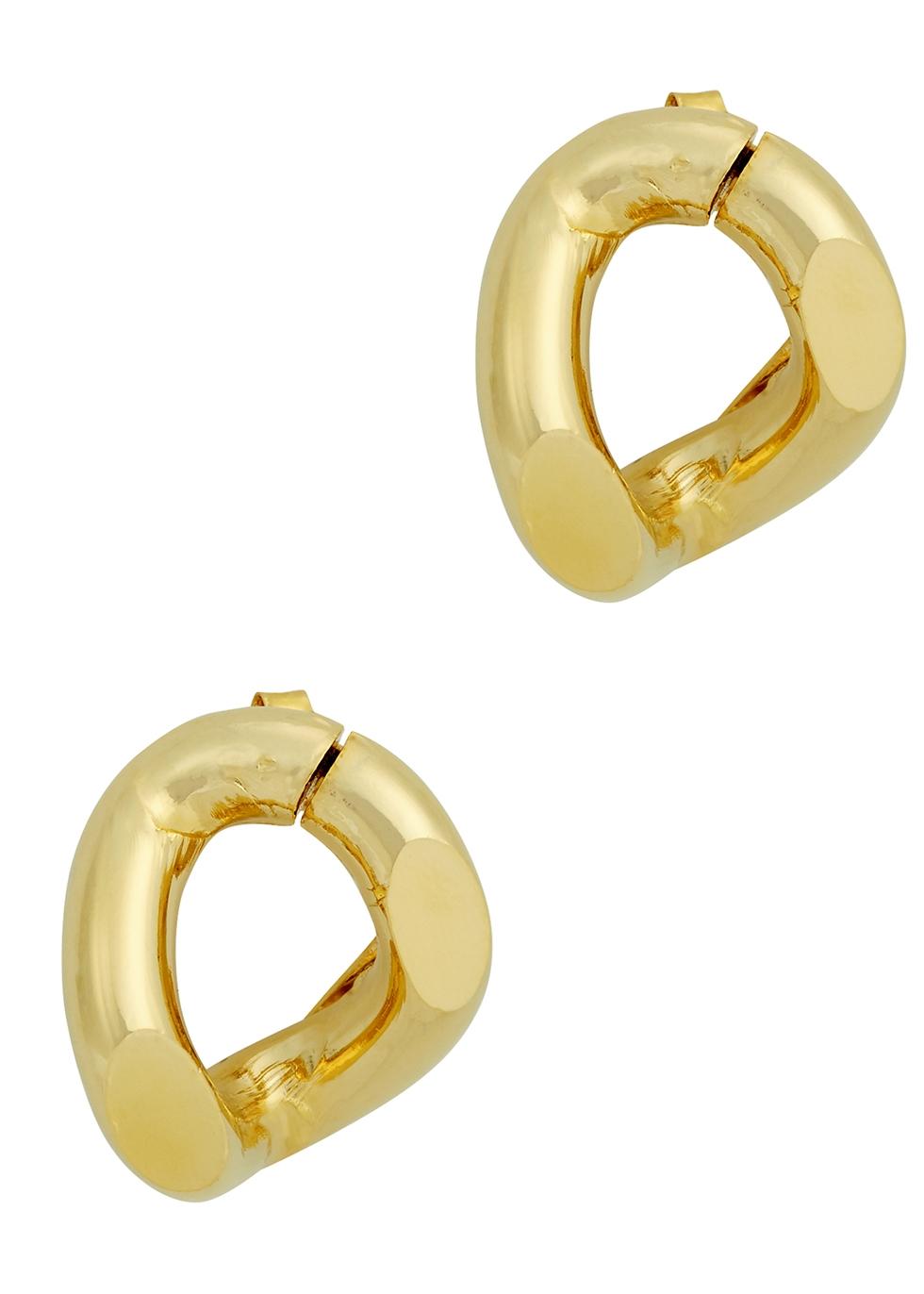 Amy gold-tone earrings
