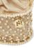 Holli Siviglia faux-pearl embellished top handle bag - Rosantica