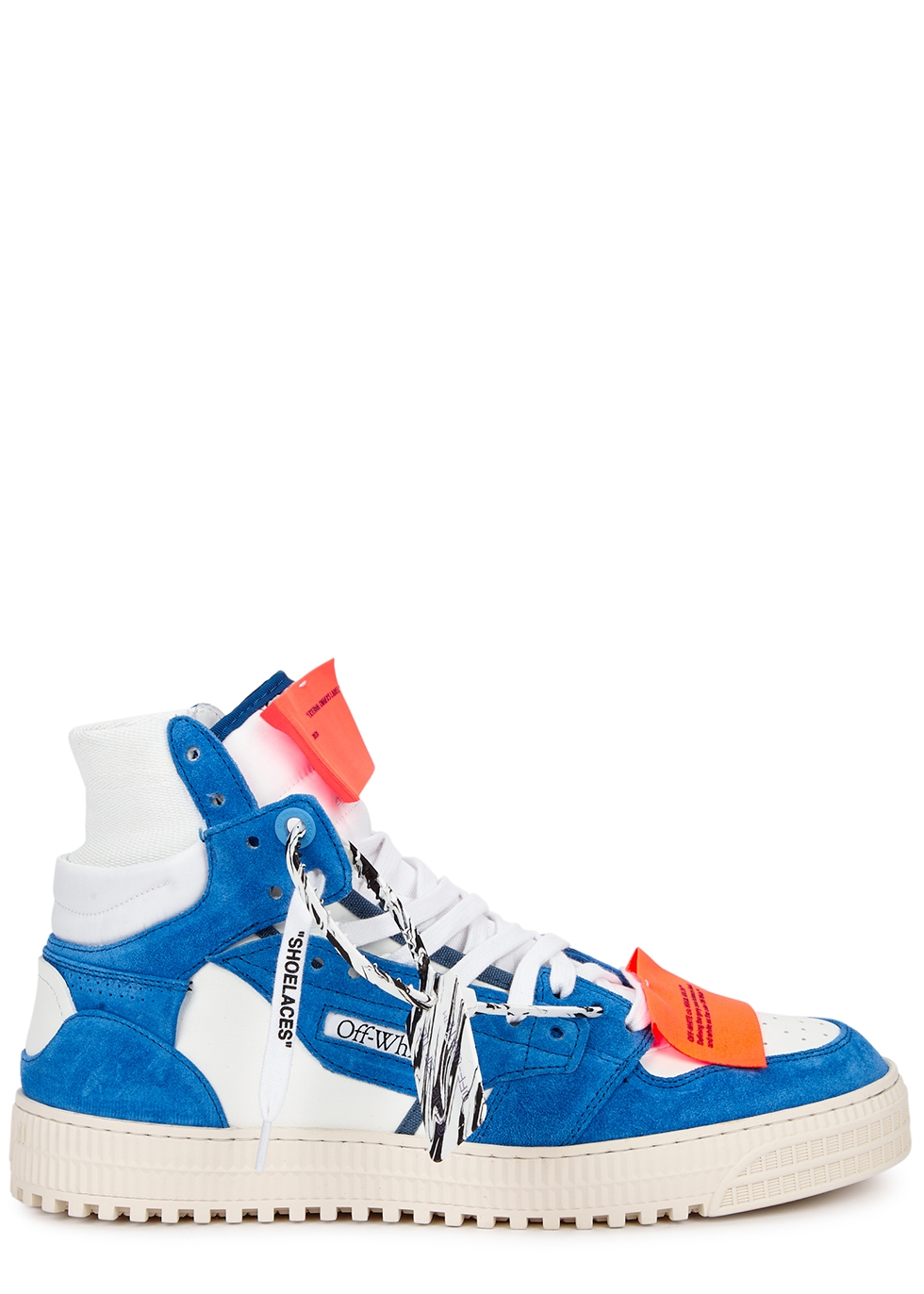 Off-Court 3.0 white leather hi-top sneakers
