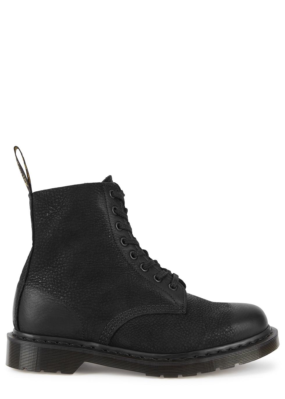 1460 Pascal black nubuck ankle boots