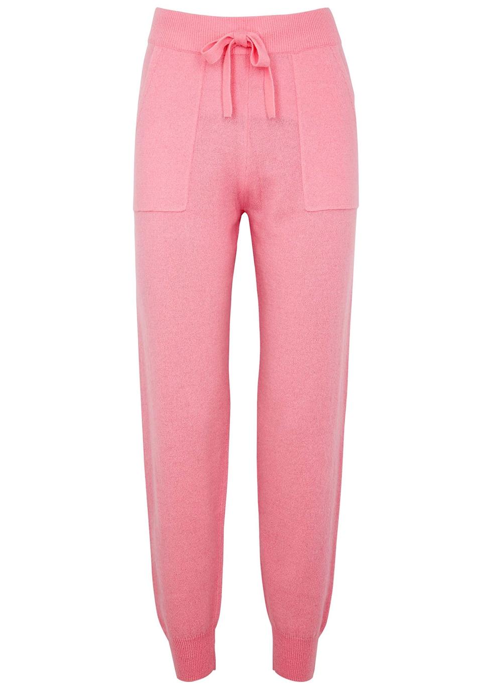 Faro pink cashmere sweatpants