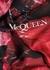 Exploded Poppies black silk scarf - Alexander McQueen
