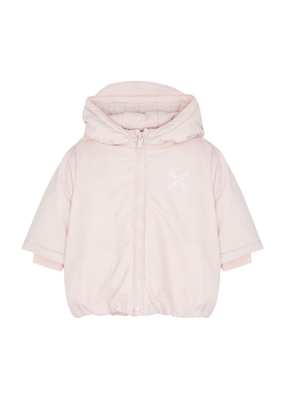 Pink padded shell jacket