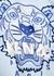 Blue logo-embroidered cotton sweatshirt (6-12 years) - Kenzo