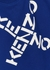 Blue logo cotton sweatshirt (6-12 years) - Kenzo