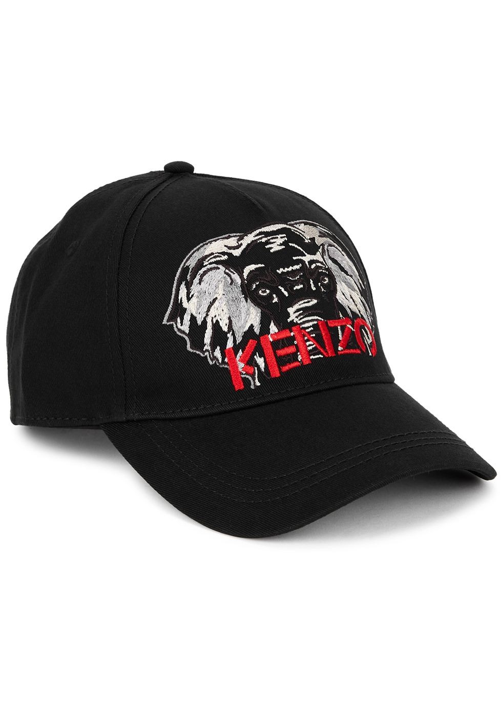 Kenzo logo-embroidered twill cap (large)