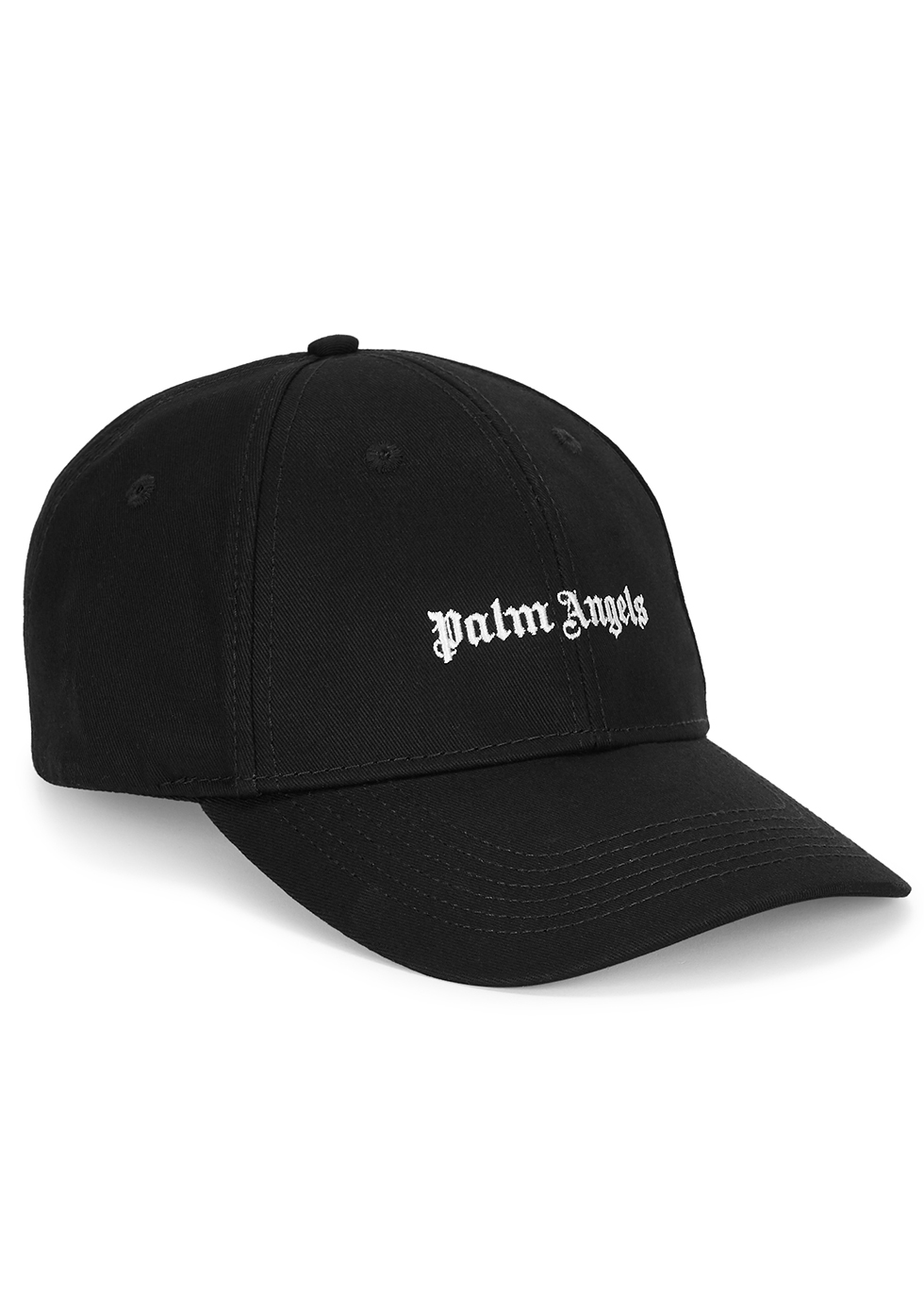 Classic black logo twill cap