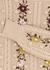 Enid floral-embroidered wool-blend jumper - Alice + Olivia