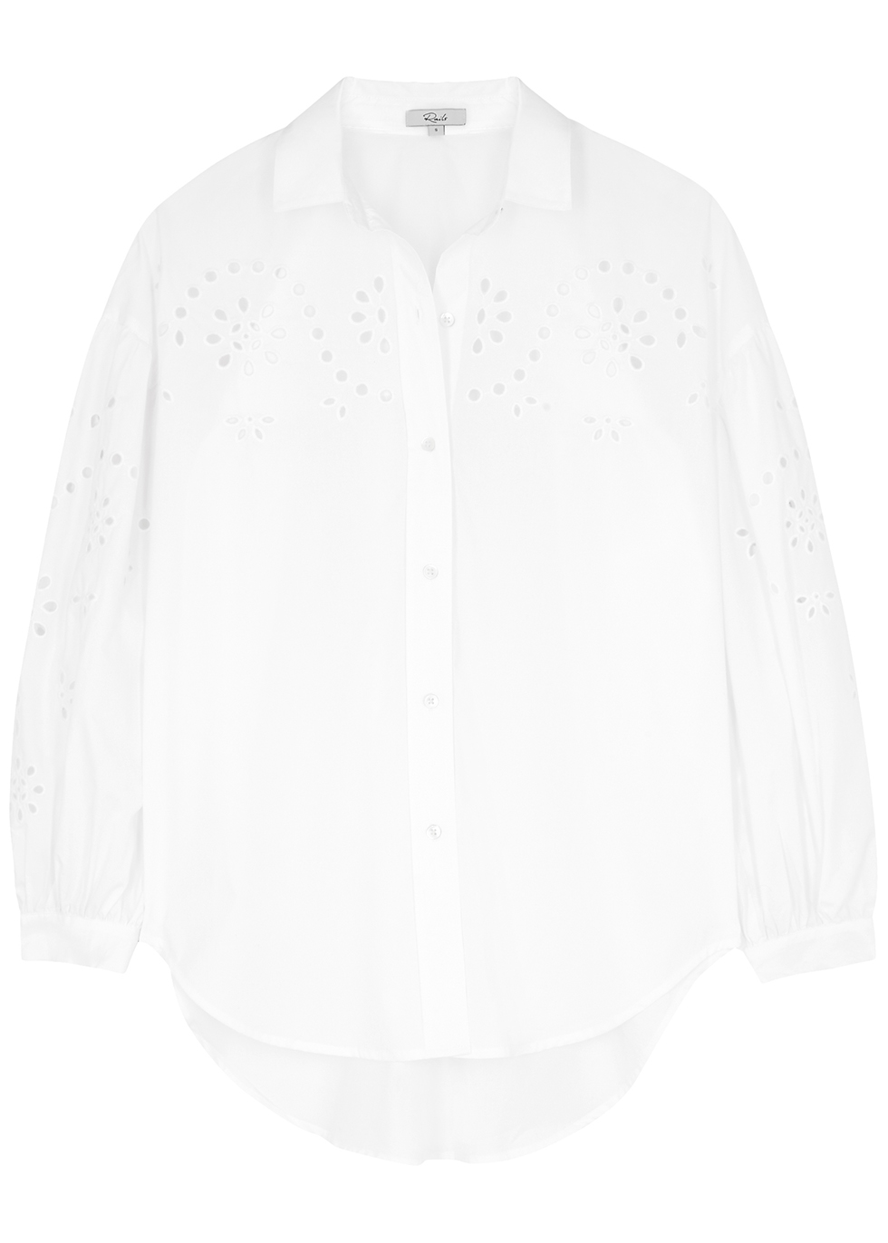 Alister white broderie anglaise shirt