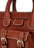 Edith brown small leather shoulder bag - Chloé