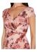 Floral metallic column gown - Adrianna Papell