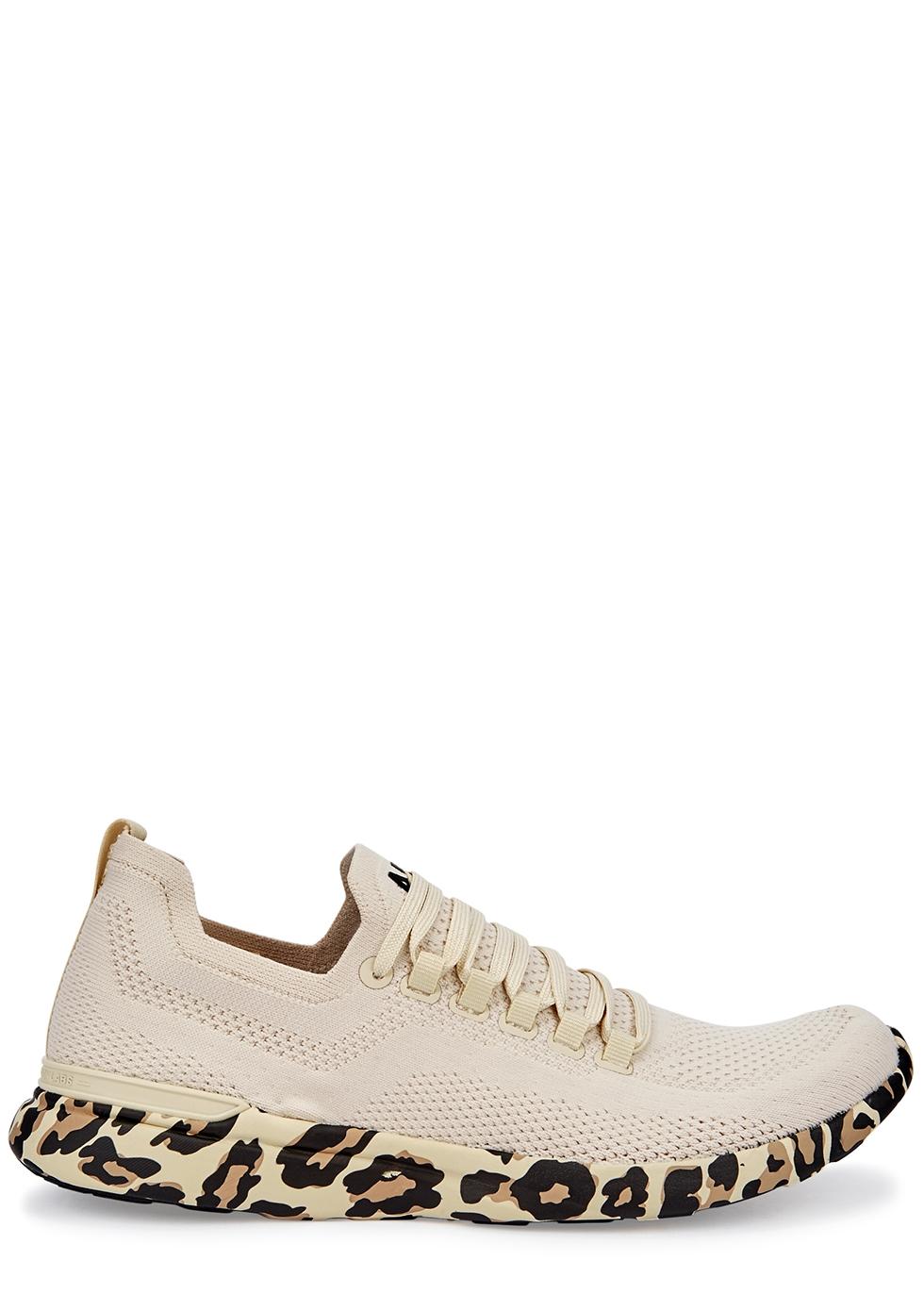 Techloom Breeze cream knitted sneakers