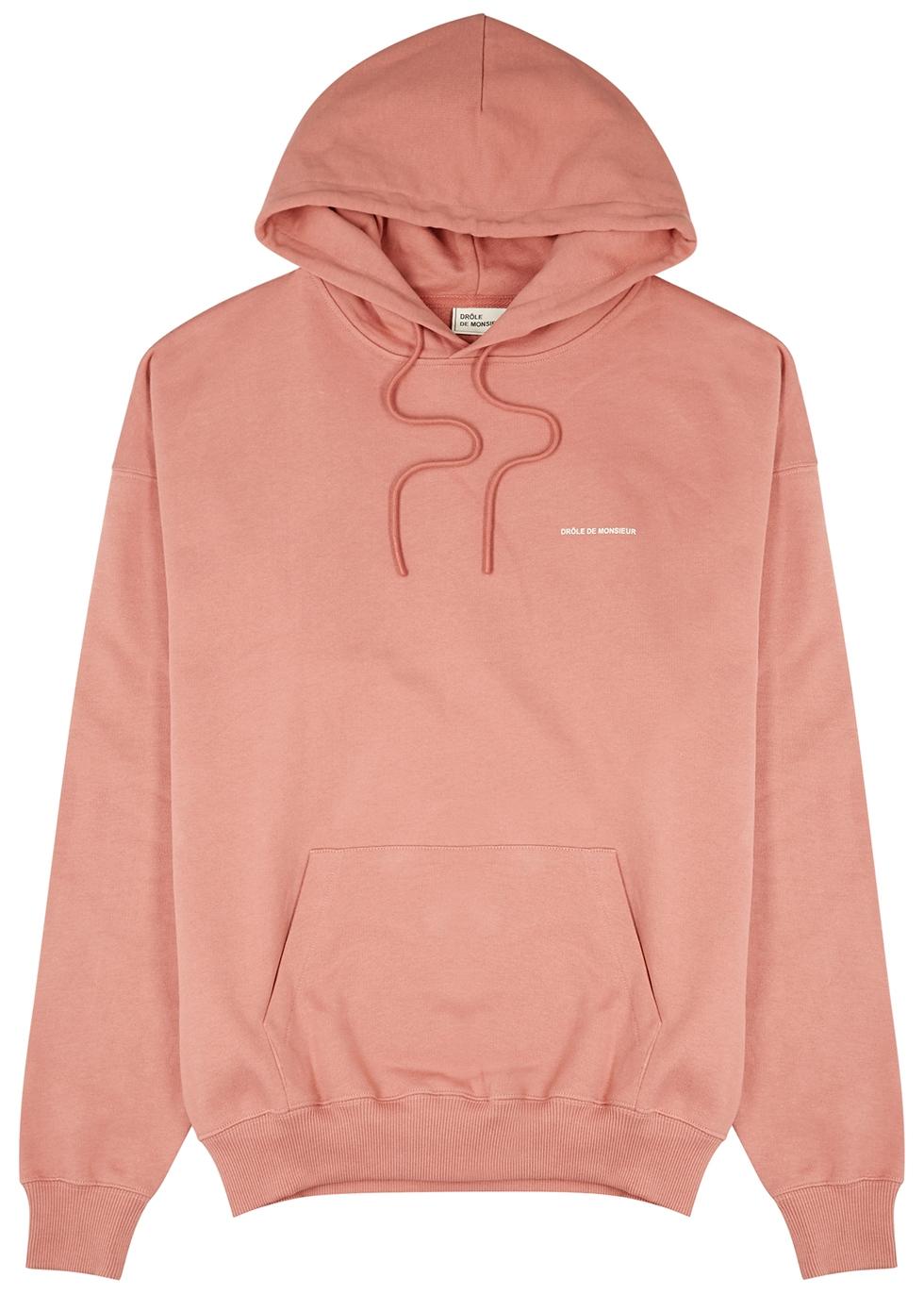NFPM rose hooded cotton sweatshirt