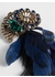 Vintage cabochon brooches with rhinestones - Weekend Max Mara