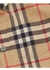 Short-sleeve vintage check cotton shirt - Burberry
