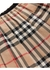 Vintage check cotton pleated skirt - Burberry
