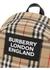 Logo applique vintage check backpack - Burberry