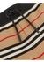 Icon stripe cotton shorts - Burberry