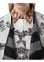 Deer sketch wool cashmere cape - Burberry
