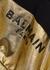 Black and gold cropped cotton sweatshirt (4-10 years) - Balmain