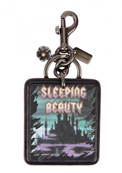 Coach Coach x Disney Sleeping Beauty Bag Charm - Black okjeQl