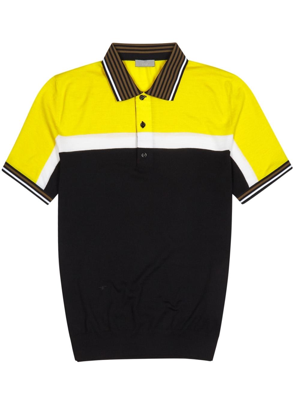 Dior Homme T Shirts Polo Jackets Scarves Harvey Nichols Kaos Polos Yellow Baby