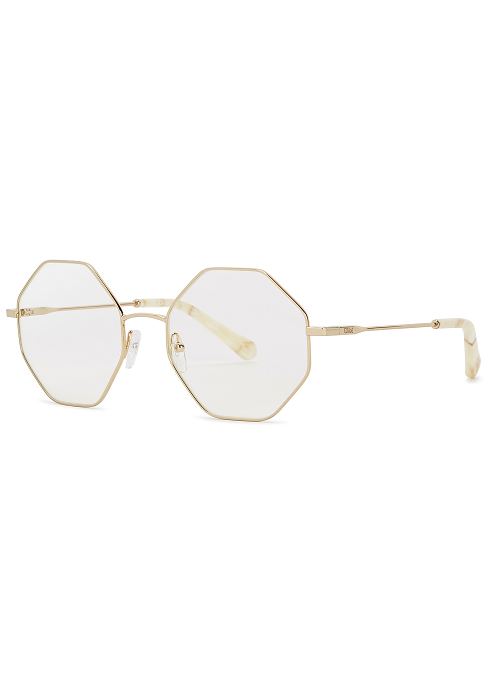 cd269361f5c Womens optical frames designer glasses harvey nichols jpg 980x1372 Chloe  gold optical frame