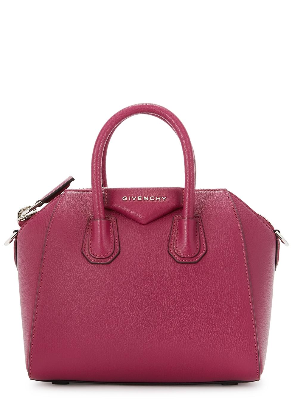 5989005dc0 Givenchy Antigona mini pink leather top handle bag - Harvey Nichols