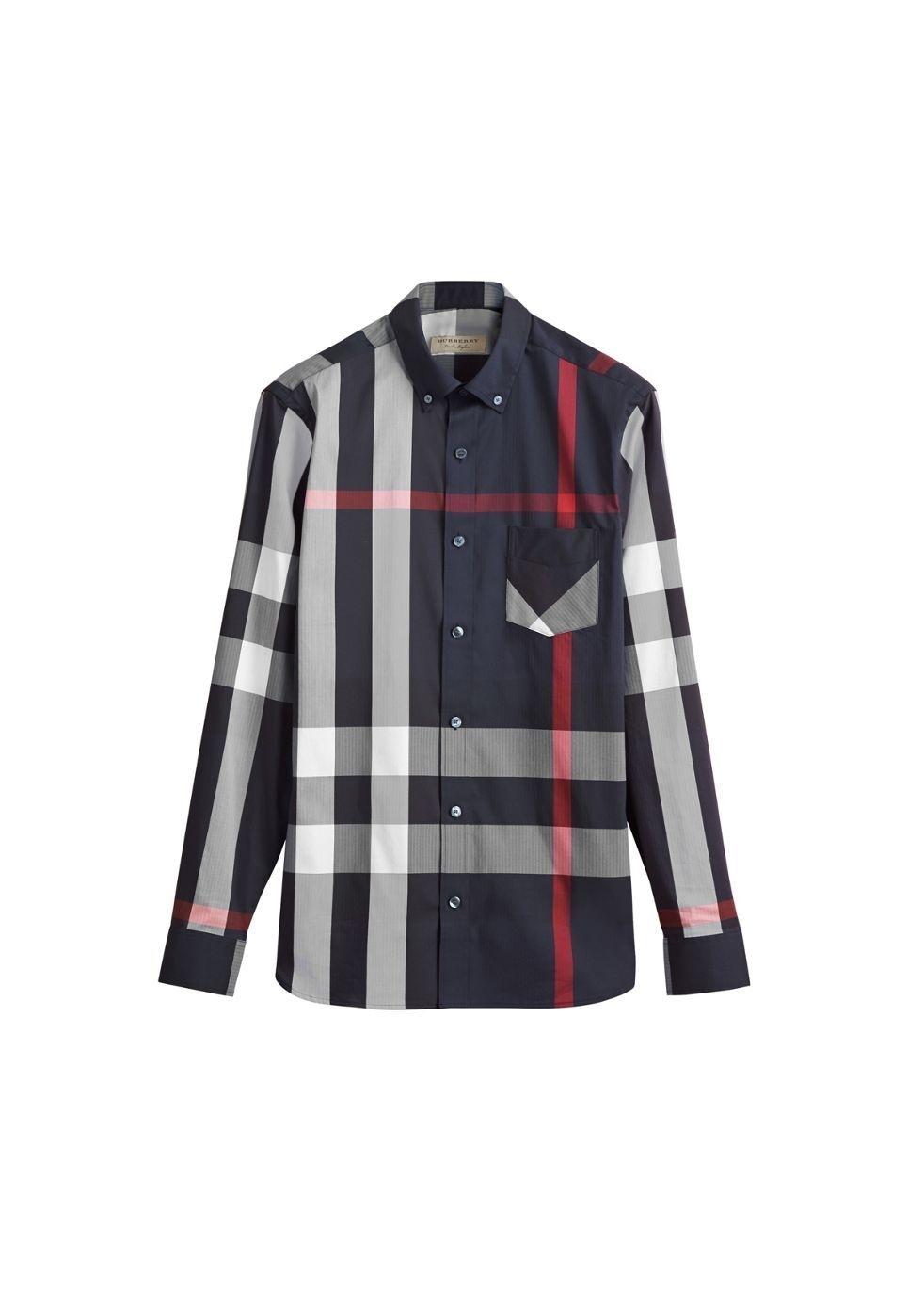 Burberry Shirts - Mens - Harvey Nichols d3f4952dfd