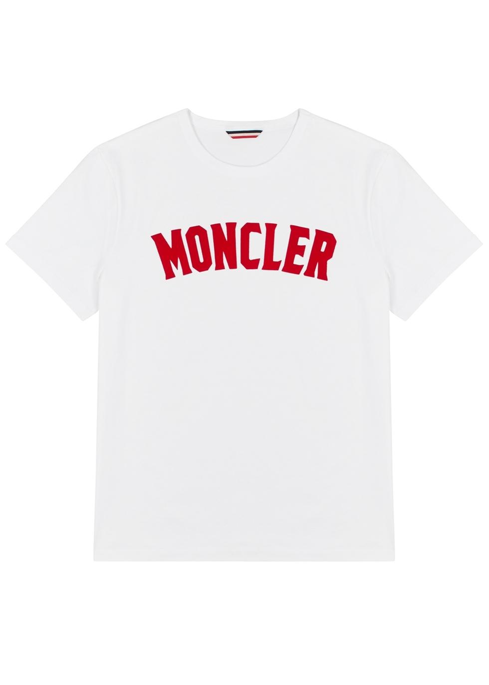 e42acd3fa Moncler Genius 1952 1952 black logo-print T-shirt - Harvey Nichols