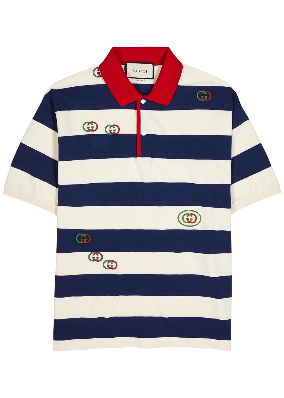 b5774c9df764 Gucci Men's Polo Shirts - Harvey Nichols