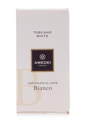 Amedei Toscano White Milk Chocolate 50g